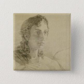 Huvud och händer av St John, 1806 Standard Kanpp Fyrkantig 5.1 Cm