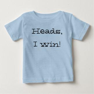 Huvud segrar jag! tee shirts