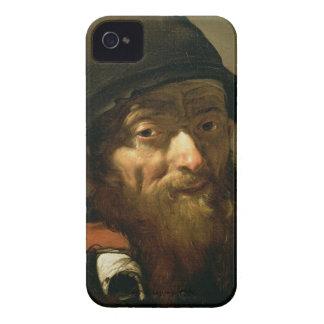 Huvudet av en gamal man, specificerar av porträtt iPhone 4 Case-Mate cases