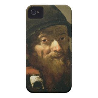 Huvudet av en gamal man, specificerar av porträtt iPhone 4 Case-Mate skal