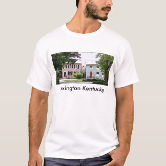 Huvudsaklig gata #3, Lexington Kentucky Tee Shirt