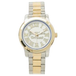 Huvudsaklig gataklocka (tända), armbandsur