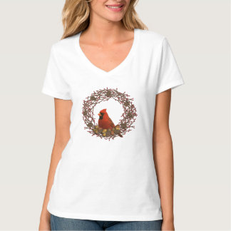 Huvudsaklig kranskjorta t-shirt