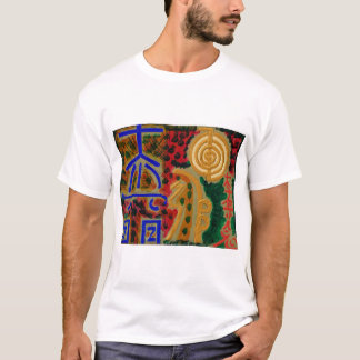 Huvudsakliga läka symboler för REIKI T-shirts