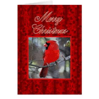 Huvudsakligt hälsningkort för god jul hälsningskort
