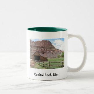 Huvudstadrev, Utah Två-Tonad Mugg