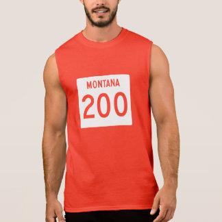 Huvudväg 200, Montana, USA Sleeveless Tröjor
