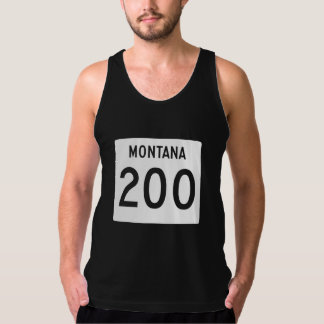 Huvudväg 200, Montana, USA Tank Top