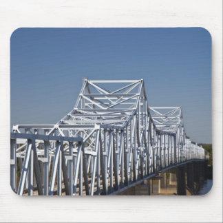 Huvudvägen I-20 överbryggar över Mississippi River Musmatta