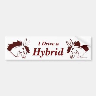 Hybrid- Mules Bildekal
