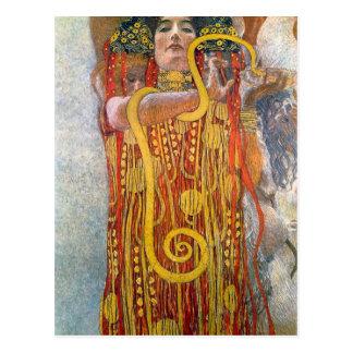 Hygeia av Gustav Klimt Vykort