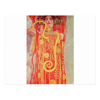 Hygieia av Gustav Klimt Vykort