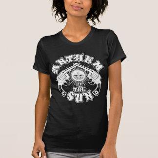 Hyllningssång av solen - sol av ett vapen tee shirt