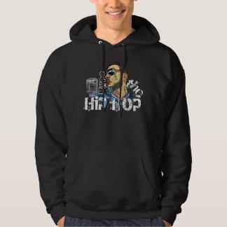 Hype den Hooded tröjan för hip hop! Hoodie