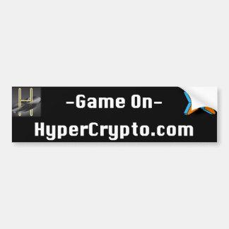 """HyperCrypto.com bildekal 11"""""""" vinyl för Legit x3"""