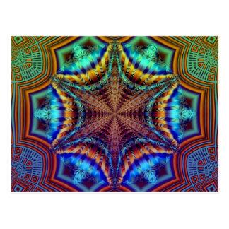 Hypnotisk utstrålaFractal Vykort