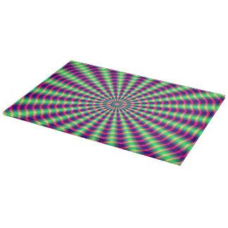 Hypnotiska ringar och strålar