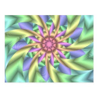 Hypnotiskt avbilda 1 vykort