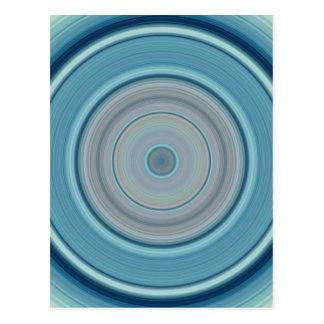 Hypnotiskt cirkla Aquavit Vykort
