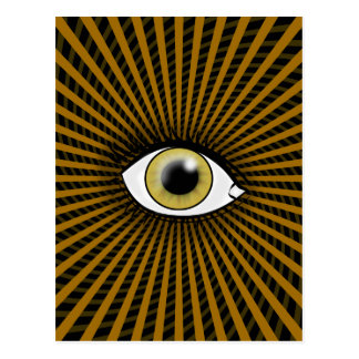 Hypnotiskt Hazelöga Vykort