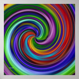 Hypnotiskt Poster