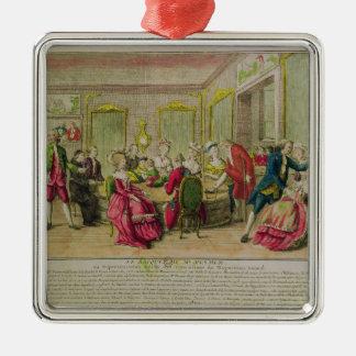 Hypnotismperiod med Franz Anton Mesmer 1784 Julgransprydnad Metall