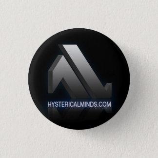 Hystericalminds.com knäppas mini knapp rund 3.2 cm
