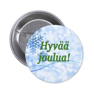 Hyvää joulua! God jul i finlandssvensk gf Knapp