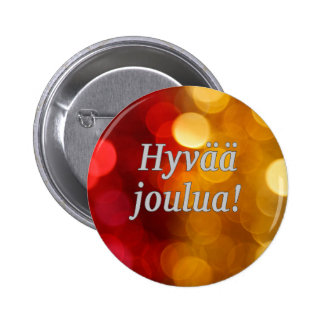Hyvää joulua! God jul i finlandssvensk wf Knapp
