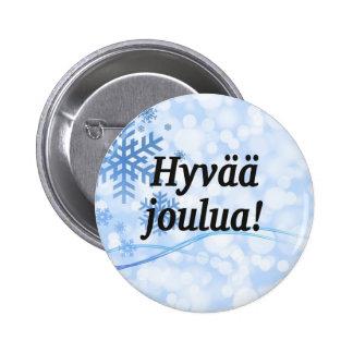 Hyvää joulua! God jul i finskabf Knappar