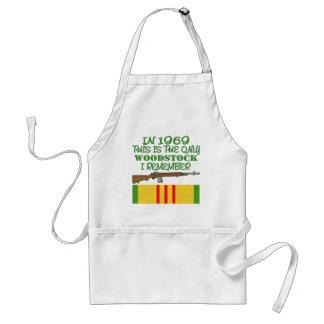 I 1969 den enda Woodstocken minns jag Vietnam Förkläde