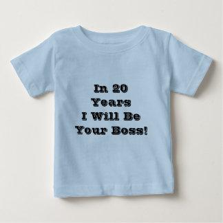 I 20 år som jag ska, var din chef! Slogan. T-shirt