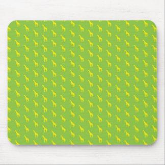 I afrikan - giraffgrönt/gult… musmatta