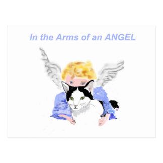 I ärmar av en ängel vykort