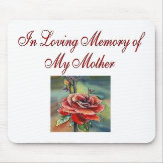 I att älska minne av min mor musmatta