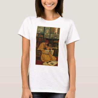 I bibliotek t-shirt