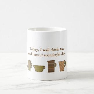 I dag ska jag drinktea… kaffemugg