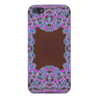 I den rosa Colorfoil bandannaen iPhone 5 Hud