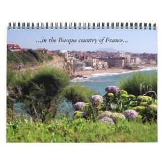… i det baskiska landet av frankriken… kalender