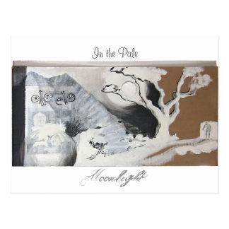 I det bleka månsken vykort