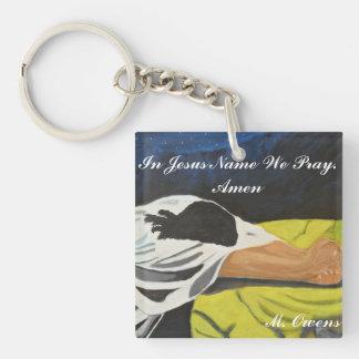 I det Jesus namn ber vi. Amen nyckelring