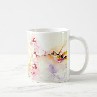 """""""I det rosa"""" Hummingbirdtrycket Kaffemugg"""