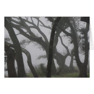 I en dimma hälsningskort