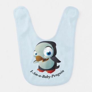 I-Förmiddag-en-Baby-Pingvin babyhaklapp Hakklapp