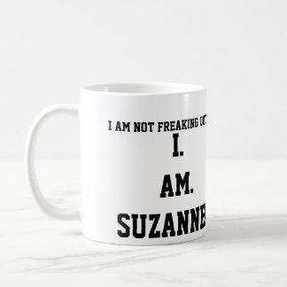 I. FÖRMIDDAG. SUZANNE!!!! KAFFEMUGG