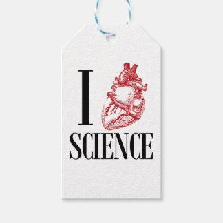 I heart science presentetikett
