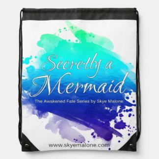 I hemlighet en sjöjungfruDrawstringryggsäck - Gympapåse