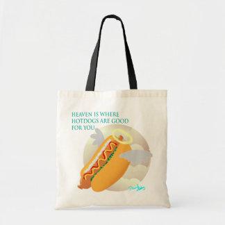 I himmel är hotdogs bra för dig tygkasse