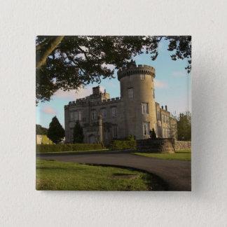 I Irland hänrycker den Dromoland slottsidan Standard Kanpp Fyrkantig 5.1 Cm