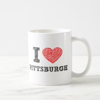 I-Kärlek-Pittsburgh Kaffemugg